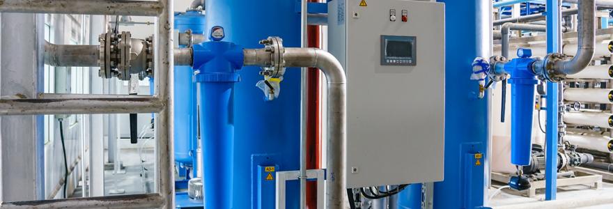 gestion de la production de fluides industriels